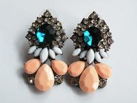 Fashion shourouk crystal for earrings