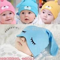 Free shipping 1piece Child Sleep hat Newborn cap The baby kit lens cap Baby Cotton Cap