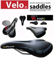 VL-3147Y Ergonomic Waterproof MTB Bike Bicycle Saddle Seat Pad Cover Riding  Style  Leather Elastic Sponge