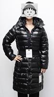 women's thickening thermal waist long design down long white