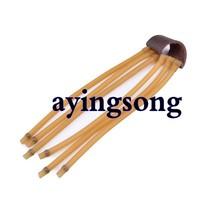 G-57 6-String Rubber Bands for Slingshot - Multi-Color(Randomly shipped)