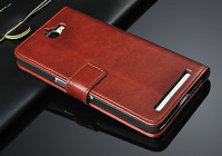2014 New arrival! With Stand Holder Luxury flip leather case For TCL s720t s720 +Card Slot Free shipping
