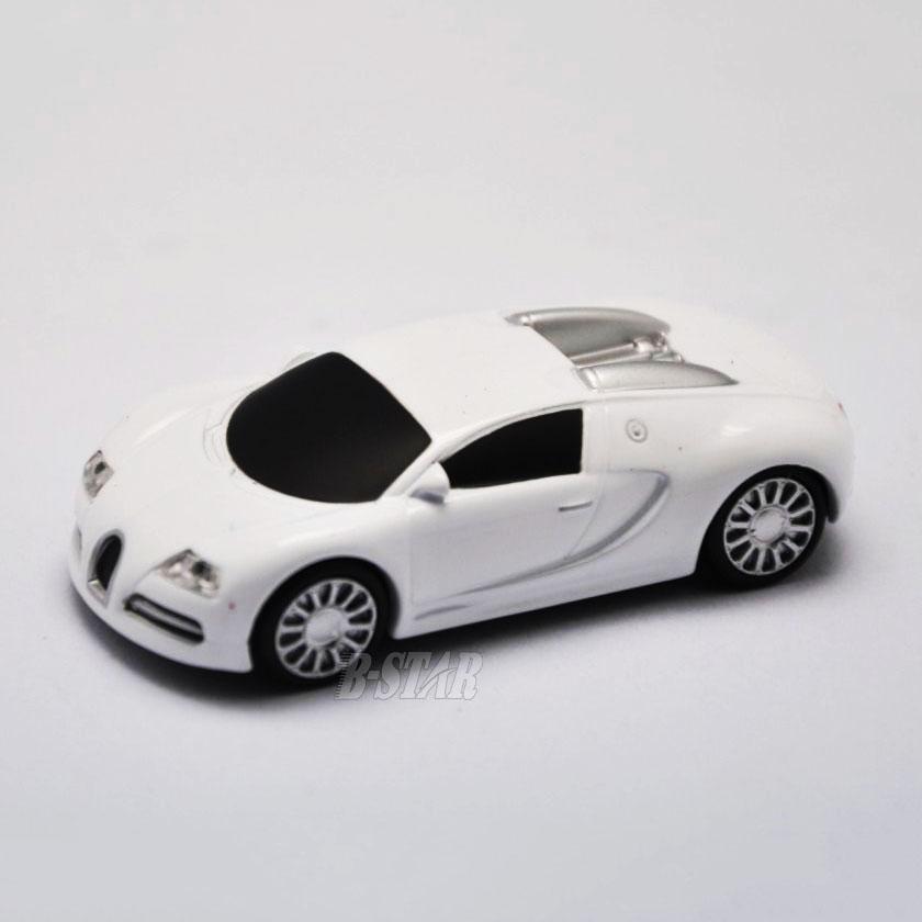 Free shipping Hot-selling Wholesale Cartoon mini small White car 2-32GB USB 2.0 Flash Memory Stick Pen Drive U Disk RU424(China (Mainland))