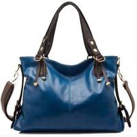 Free Shipping 2014 new fashion leather women handbag High Quality Tote leather vintage Bag single shoulder bag women handbag