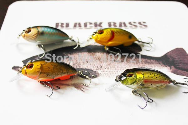 Приманка для рыбалки 4pcs/0/5 9,6 g 73 Mustad 9.6g 73mm