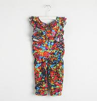 Retail spring new arrive 2014 fashion summer dress short sleeve clothes pants suits girls clothing sets suit kids clothes sets