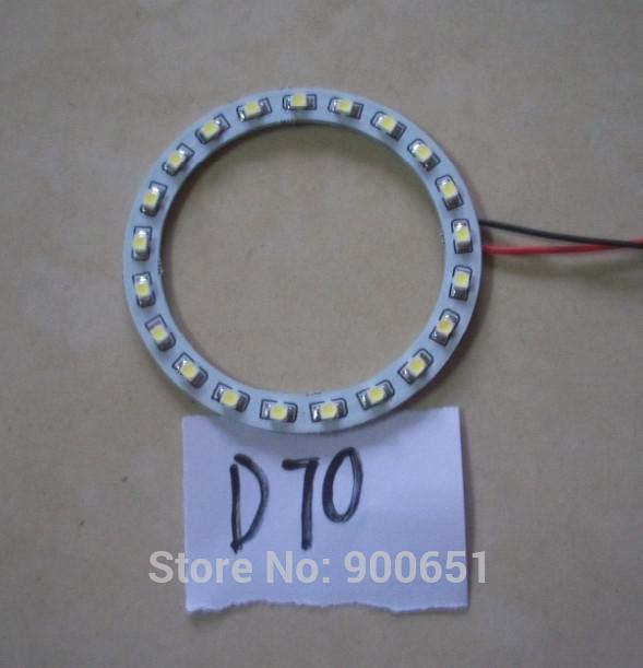70mm 21SMD headlight led angel eye car light source,external light(China (Mainland))