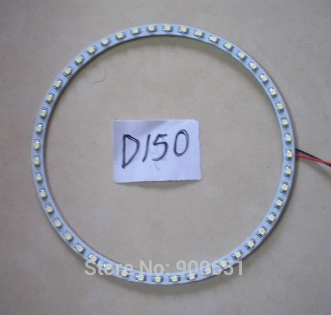 150mm 45SMD 3528 headlight led angel eye car light source,external light(China (Mainland))