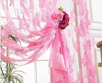 E-Home Free Shipping,Whole Sale,Fringe Curtain,Size:300*300cm,Butterfly Design, Gift For Christmas Holiday-WHB-B32