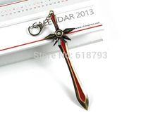 LOL weapon anti-bronze sword weapon Solomid ' Leona sword weapon League of Legends key chain LOL04