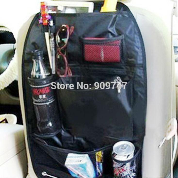 auto car back seat organizer storage bag suspension Coasters multi use Trip Car multi Pocket(China (Mainland))