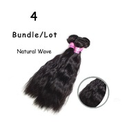 4pcs Malaysian Natural Wave Virgin Hair Weaves Unprocessed Queen Hair Products Water Wave