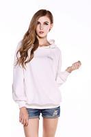 Cotton Sweater 2014 Major League Baseball  large size women loose sweater white sweater Korean