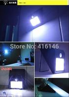 SOLAR POWER MOTION SENSOR DETECTOR 16 LEDs OUTDOOR LIGHT HOME SECURITY