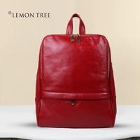NEW 2014 women backpacks genuine leather bags women leather backpacks first layer cowhide school bag fashion bolsas femininas