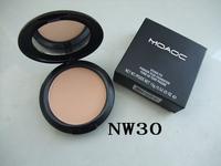 1pcs retail  NO 010 15g powder cake plus foundation,10 colors free shipping