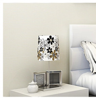 new non-woven flocking simple striped wallpaper bedroom living room sofa backgroumd for wall paper