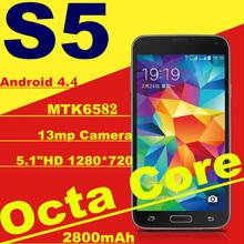 "5.0""Vivo Phone MTK6589 Quad Core SmartPhone Ram 2GB Rom 8GB Android4.4 OS 1080*1920p 13MP Dual SIM Phone 3G WIFI GPS.(China (Mainland))"
