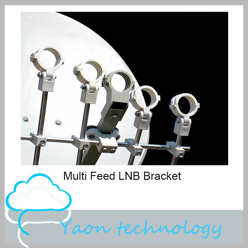 5pcs Multi Feed LNB Bracket Holder For Satellite Dish Or Antenna Hold Up To 5 Ku Band LNB(China (Mainland))
