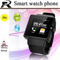 2G/3G optional Smart watch phone Bluetooth 3.0 phone watch 3.0MP Mini Camera watch WIFI Dual CPU GPS Free shipping