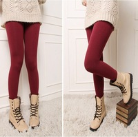 2014 autumn and winter maternity solid color skinny leggings pregnant women thights trousers belly pants candy color leggings