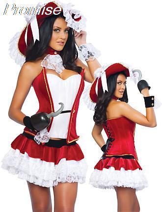Yeni varış cosplay karayip korsanları kostüm cadılar bayramı