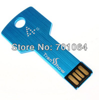 Free DHL shipping  100pcs  Key Shape USB flash drive  with  1GB real capacity  usb  flash pendrive