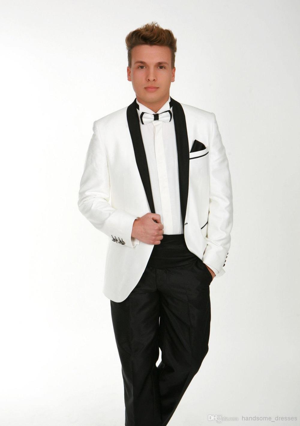 Black Pants White Jacket Tuxedo White Jacket With Black