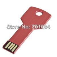 Free shipping : 18gb 8gb x50 units  Key Shape USB flash drive  real capacity  usb  flash pendrive logo engraved usb flash
