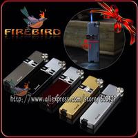 AOMAI Good Quality Metal Safe Jet Flame Wheel Windproof Cigar Butane Gas Cigarette Lighter