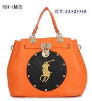 Free shipping 2014 New Polo / Paul bag Korean female bag canvas bag PU bag / handbag European and American fashion