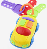 High quality baby toy car car keys with lights and sounds children toys baby rattles free shipping