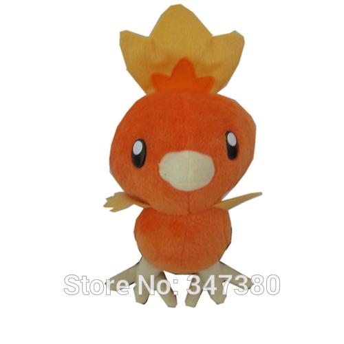 Pokemon Costume Torchic Plush Anime Plush toys 27cm Stuffed Animals Dolls New Year Gifts for Children 30pcs(China (Mainland))