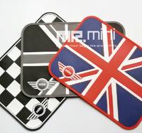 Car Non-slip Mat Anti-slip MINI Cooper Union Jack Mat Car Pad Holder For Mobile Phone PDA mp3 mp4 GPS Key Coin