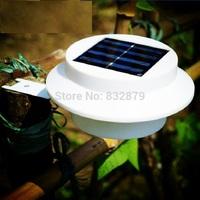 4 Pcs Super Bright Yard Lamp Solar Panel Garden Light 3 LED Lights Outdoor Home Decor Deft Design Garden Solar Light #6 TK1414