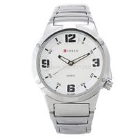 HOT Sale CURREN Brand Men's Watches,Stainless Steel Strap Japan Movt Quartz Watches