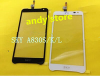 Original White or black New Touch Screen Digitizer/Replacement for Pantech SKY VEGA A830S K L