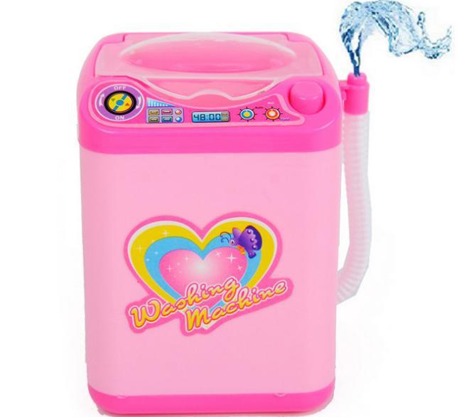 Mini máquina de lavar roupa pensamento do brinquedo de pelúcia 3 pçs/lote grátis frete(China (Mainland))