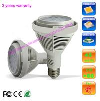 3 years warranty Osram 45W PAR30 led spot light bulb lamp, PAR30 45W led ceiling down light with black or white color E26 E27