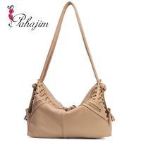 2014 big bags shoulder bag messenger bag handbag women's vintage rivet fashion handbag all-match