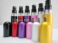 2014 Hot Sale 5ML aluminum  Traval  Refillable Spray Mini Perfume Bottle  Free Shipping