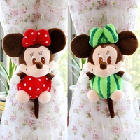 1 pc Cute Cartoon Mickey Mouse Minnie Mouse Curtain Buckle Tieback Hoop Decoration Holder Decorative Home Decor Accessories