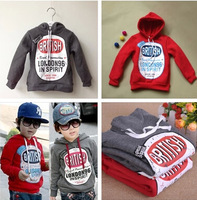 albb10 new 2014 fleece warm 3-7 age children sweater wholesale kids clothes winter boy coat 4pcs/ lot free shipping albb10