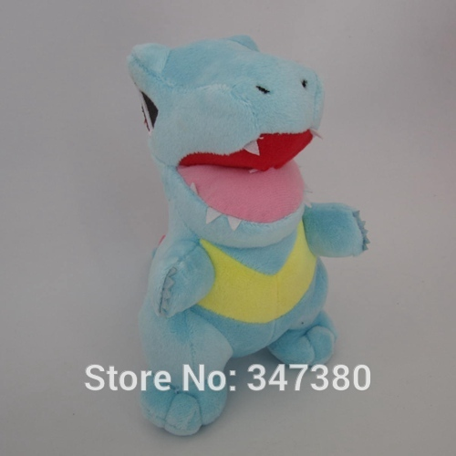 EMS Pokemon Plush Totodile Soft Toy Nintendo Stuffed Animal Doll Teddy Figure 18cm 50pcs/lot Hot Sale(China (Mainland))