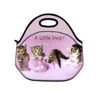 Cat Insulated Tote Thermal Lunch Bag Tote /Cool Bag/Cooler/Lunch Box/Picnic Bag\Lunch Tote Cooler Bag Handbag