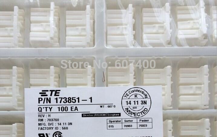173851-1 070 MULTILOCK PLUG 12P TYCO housings TE AMP housings connectors terminals 100% new and original parts(China (Mainland))