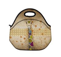 Giraffe Insulated Tote Thermal Lunch Bag/Cool Bag/Cooler/Lunch Box/Picnic Bag\Lunch Tote Cooler Bag Handbag
