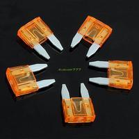 EG5841 10pcs ATM Mini Fuses Auto Car Motorbike Boat Blade 5A 5Amp Electronic