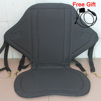 Deluxe Canoe Kayak Adjustable Nylon Comfort Seat Cushion WITH  STORAGE BACK PACK Free Shipping