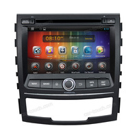7 inch touch screen gps navigation android car dvd player car dvd gps for Ssang Yong korando with bluetooth+built-in gps